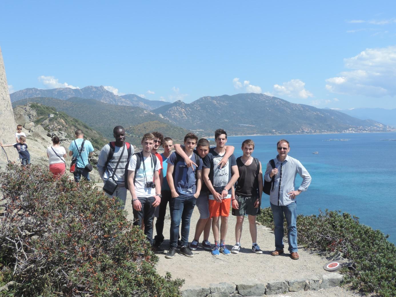 Voyage d'étude en Corse